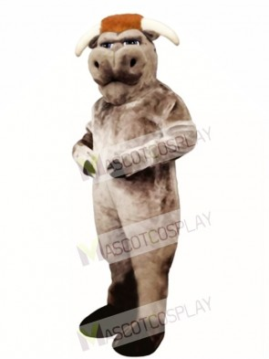 Cute Bully Bull Mascot Costume