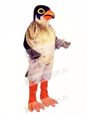Cute Red Legged Hawk Mascot Costume