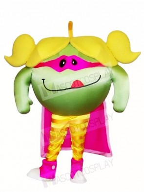 Yummy Green Apple Mascot Costumes Fruit