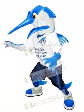 Swordfish Mascot Costume Fish Mascot Costumes