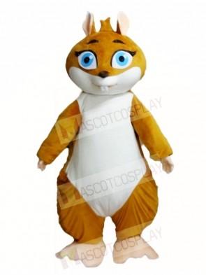 Walking Actor Squirrel Mascot Costumes Animal