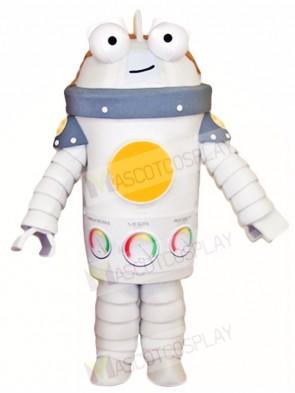 White Robert Mascot Costumes