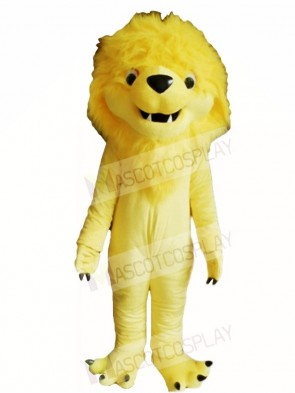Yellow Lion King Mascot Costumes Animal