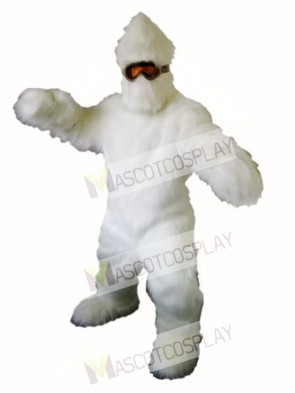 Yeti Mascot Costume Abominable Snowman Mascot Costumes