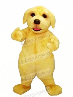 Yellow Furry Dog Mascot Costumes Animal