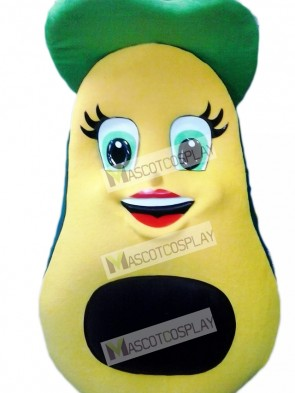 Avocado Mascot Costume Fruit Food Plant