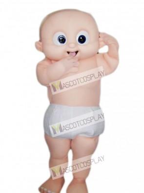 Big Eyes Baby Mascot Costume