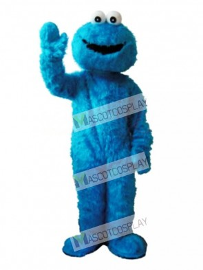 Sesame Street Blue Cookie Monster Mascot Costume Fancy Dress Adult Party Carnival Halloween Christmas