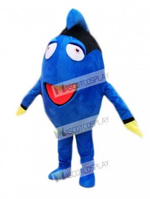 Finding Dory Regal Blue Tang Mascot Costume Cartoon Character