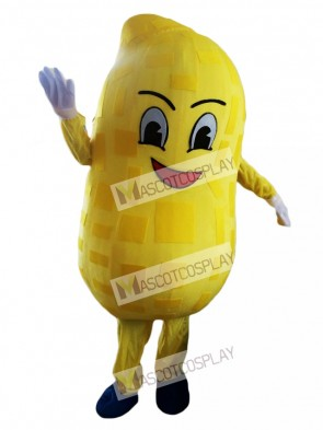 Yellow Peanut Mascot Costume