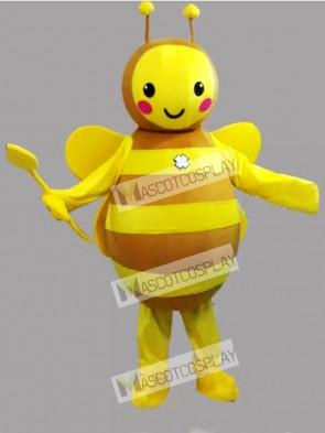 Yellow Bee Mascot Costume