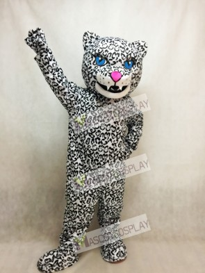 Energetic Jaguar Mascot Costume