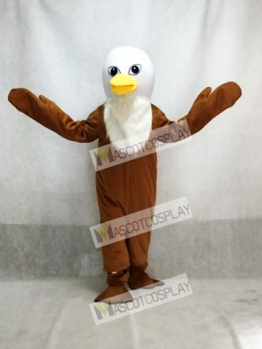 Brown Feather Eagles Mascot Adult Costume Animal