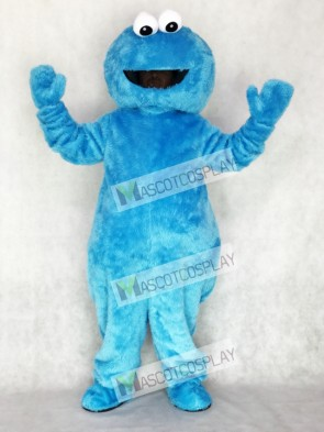 Sesame Street Blue Cookie Monster Mascot Costume Party Carnival Halloween Christmas
