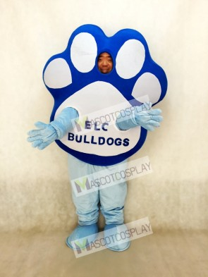 Custom Foam Body Paw Mascot 0