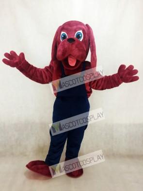 Bloodhound Dog Mascot Costume
