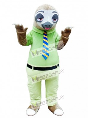 Mr. Sloth Mascot Costume