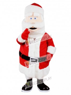 Santa Claus Father Christmas Xmas Mascot Costume