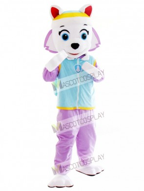 Everest Paw Patrol Husky Dog Mascot Snowy Mountain Pup Cartoon Anime