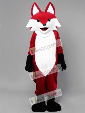 Realistic Red Fox Mascot Costume Animal