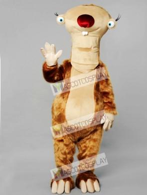 Sloth Mascot Costume