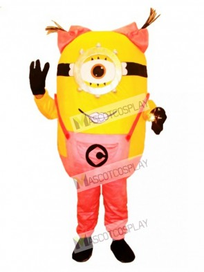 Father Simpson Yellow Man Mascot Costume