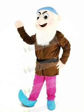 Dwarfs with Brown Coat Mascot Costume
