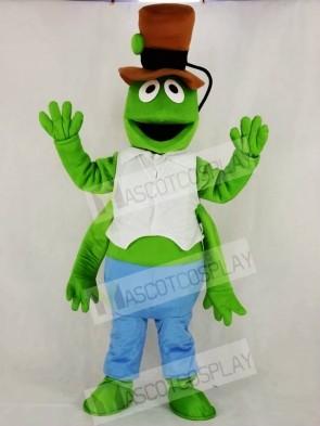 Realistic Green Grasshopper Mascot Costume Cartoon