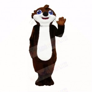 Smiling Top Quality Otter Mascot Costumes Cartoon