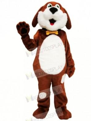 Brown and White Dog Mascot Costumes Animal