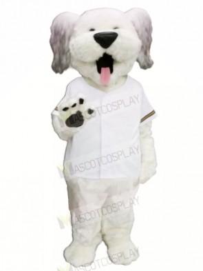 Hank Dog with White T-shirt Mascot Costumes