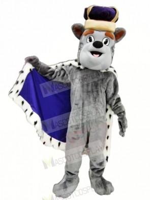 King Duke Dog Mascot Costumes Cartoon