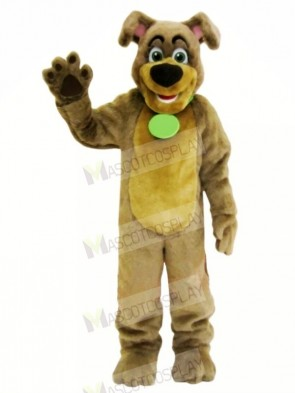 Brown Dog with Big Nose Mascot Costumes Animal