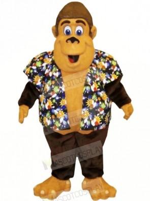 Strong Gorilla Mascot Costumes Adult