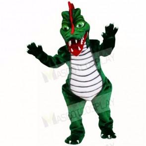 Green Dragon Mascot Costumes Adult