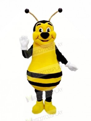 Smiling Bee Mascot Costumes Adult