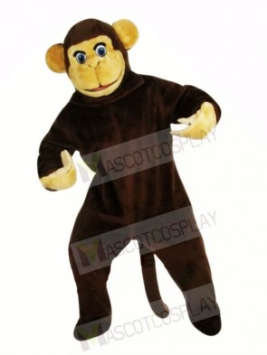 Curious Brown Monkey Mascot Costumes Animal