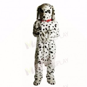 Spotted Dog with Red Necklet Mascot Costumes Adult