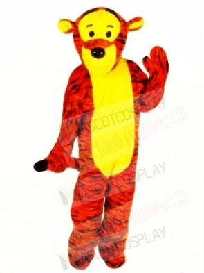 Bouncy Tiger Mascot Costumes