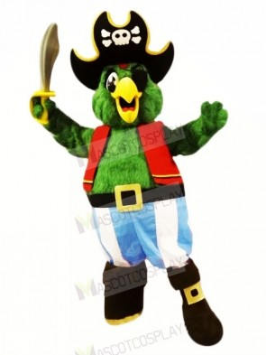 Pirate Parrot Mascot Costumes Cartoon