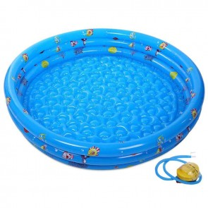 Outdoor Inflatable Baby Swimming Pool with Pump For Children