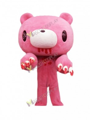 Pink Gloomy Bear Japanese Cartoon Mascot Costume