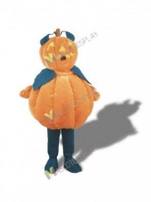 Pumpkin Man Mascot Costume Halloween Outfit