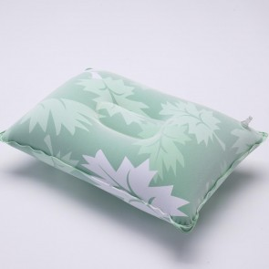 PVC Flocking Inflatable Square Pillow Outdoor Travel