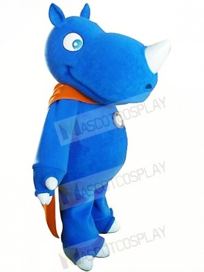 High Quality Blue Rhino Mascot Costumes