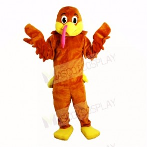 Lovely Turkey Mascot Costumes Cartoon