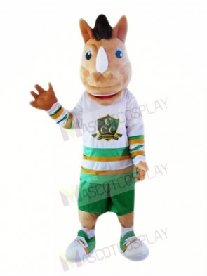 Brwon Unicorn Mascot Costumes Cartoon