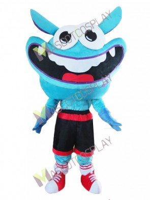 Blue Smile Bugs Mascot Costume