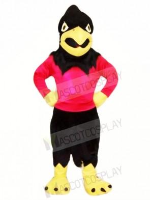 Sport Black Falcon Mascot Costumes Animal