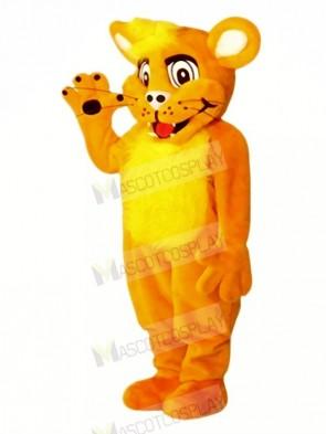 Smiling Lion Mascot Costumes Cartoon